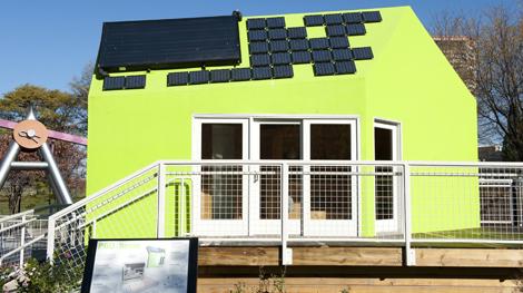 Green Solar House